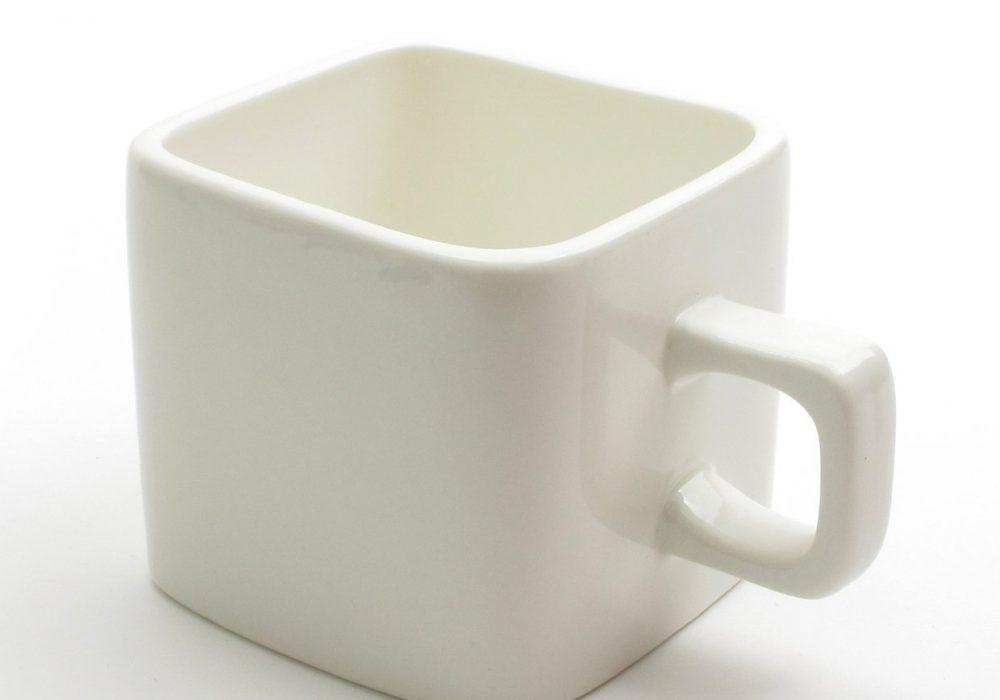 Cube Mug White