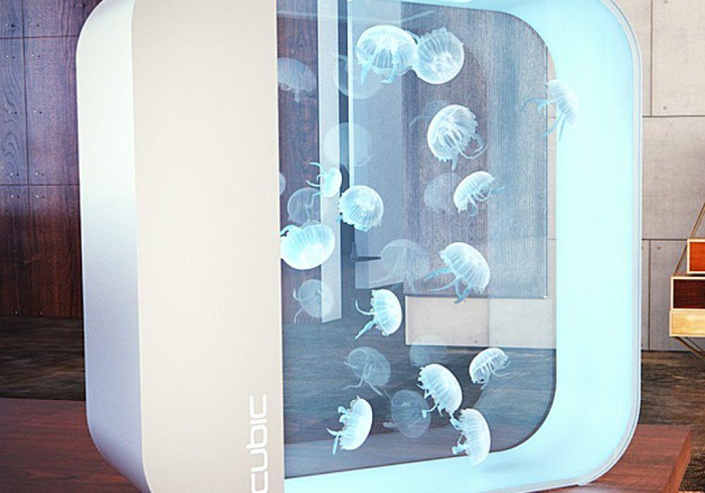 Cubic Pulse 80 Jellyfish Aquarium House Warming Gift Idea