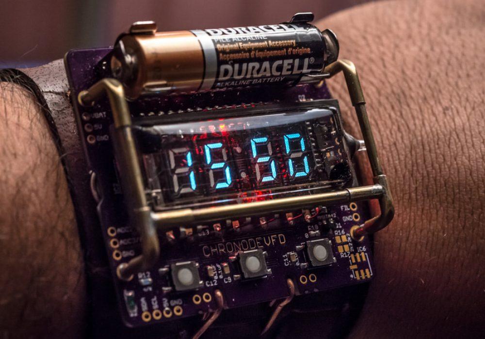 Cyberpunk Wristwatch Cosplay Accessory