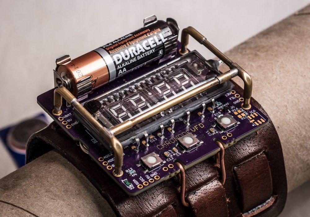 Cyberpunk Wristwatch DIY Accessory