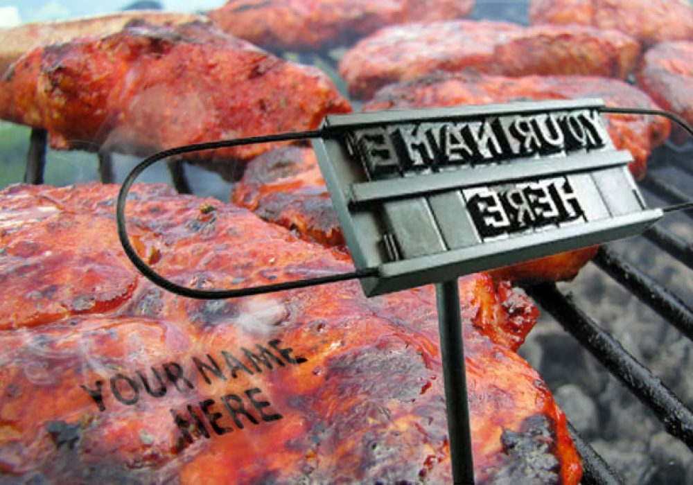 DCI BBQ Branding Iron Cool Cooking Gift for Him