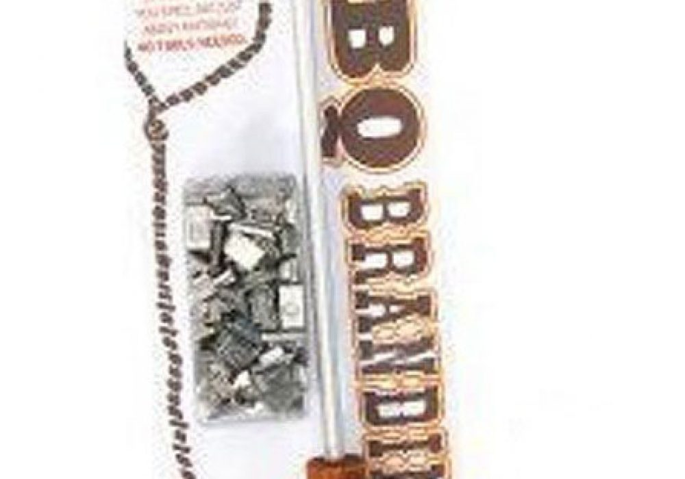 DCI BBQ Branding Iron Package