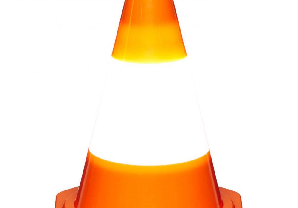 DCI Multi Purpose Traffic Cone Light Desktop Accent