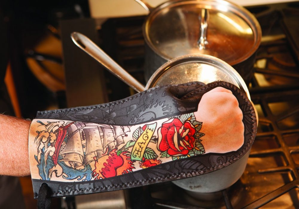 DCI Tattoo Oven Mitt Cool Gift to Buy Him