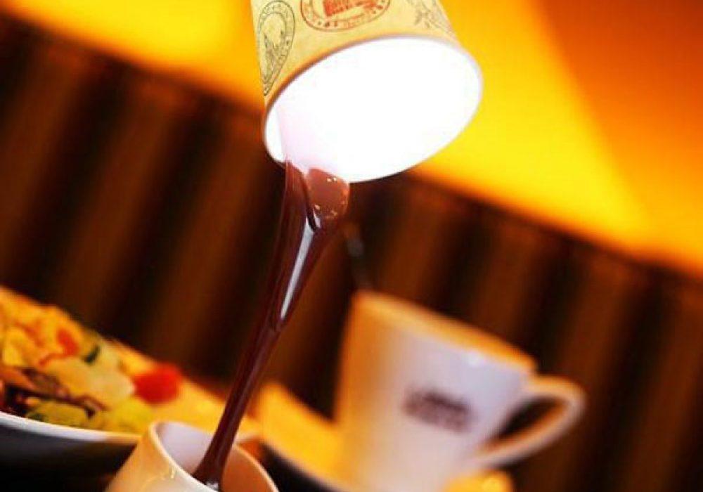 DIY Coffee Cup Table Lamp Cute Stuff to Buy Her