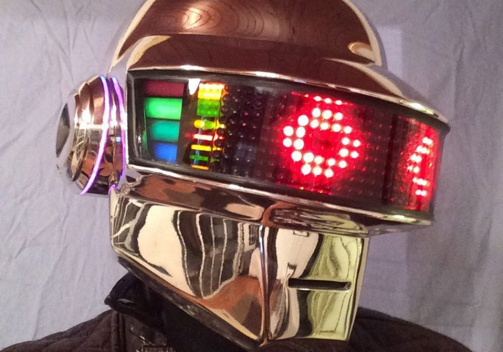 Daft Punk Guy Manuel Led Helmet Expensive Costume