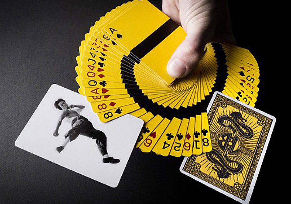 Dan & Dave Bruce Lee Playing Cards Gift Idea For Him