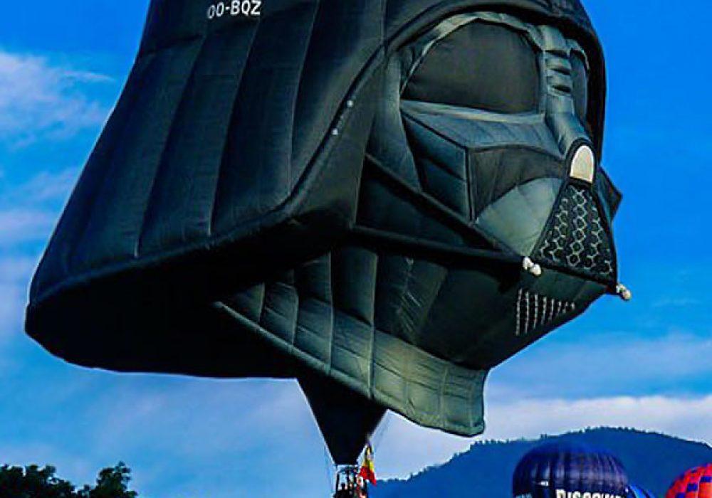 Darth Vader Balloon Weird Stuff On the Web