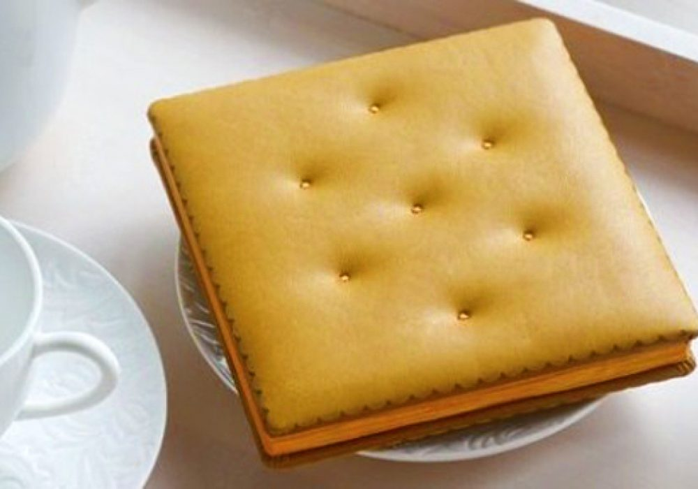 Daycraft Cheese Cracker Notebook Cool Novelty Item to Buy