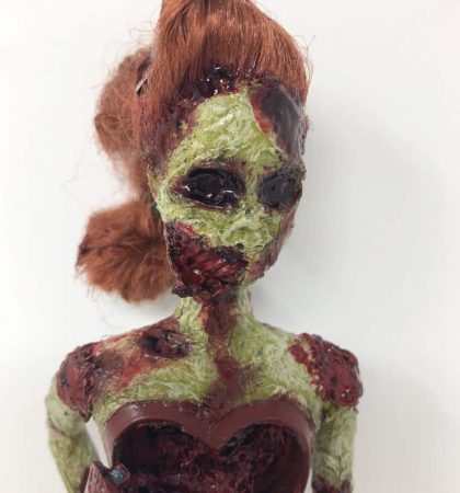 Dead Scary Jessica Pinup Zombie Barbie