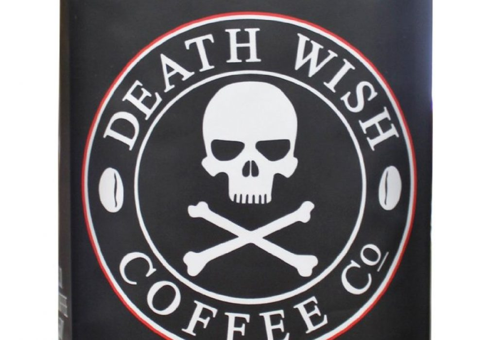 Death Wish Worlds Strongest Coffee Package Front