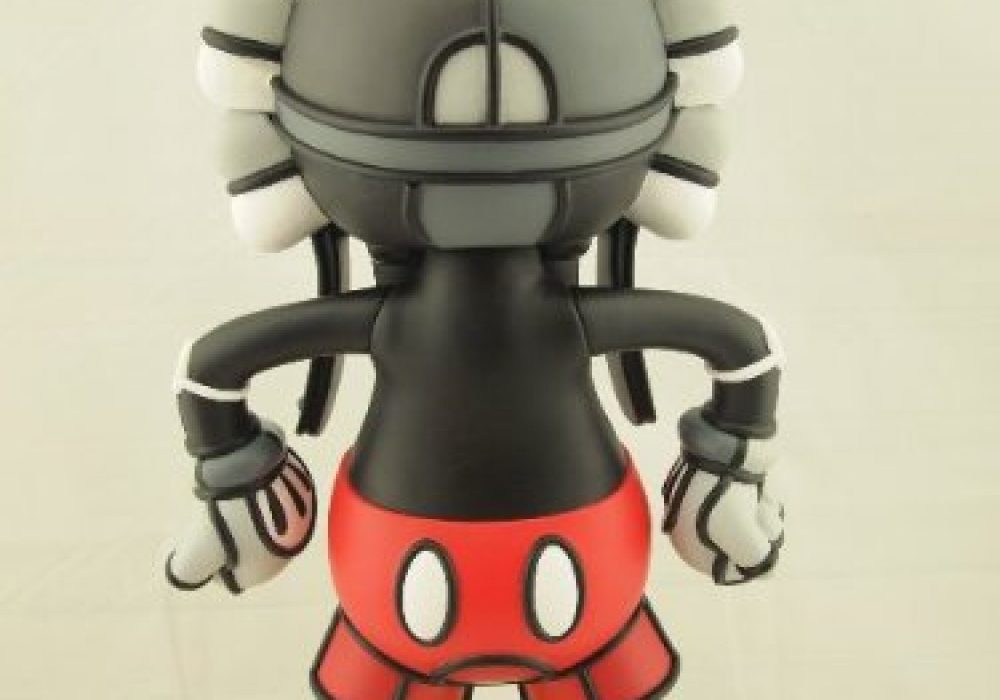 Deathshead Designer Vinyl Figure by David Flores Rear View