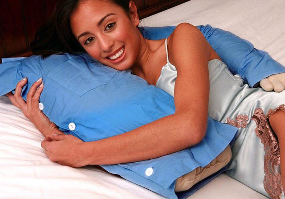 Deluxe Comfort Boyfriend Pillow Girlfriend Gift Idea