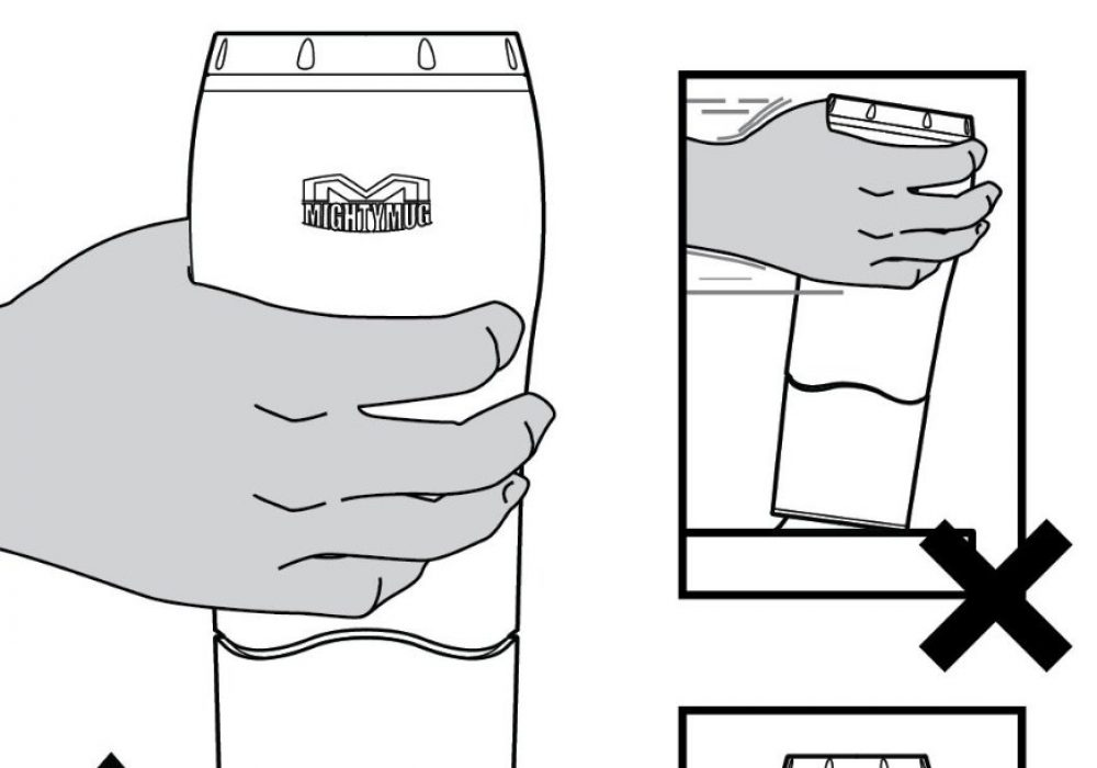 Dexam Mighty Mug How it Works