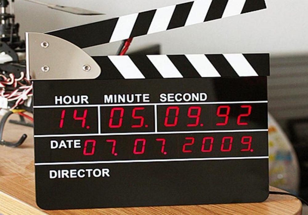 Directors Edition Digital Alarm Clock Cool Novelty Item to Buy