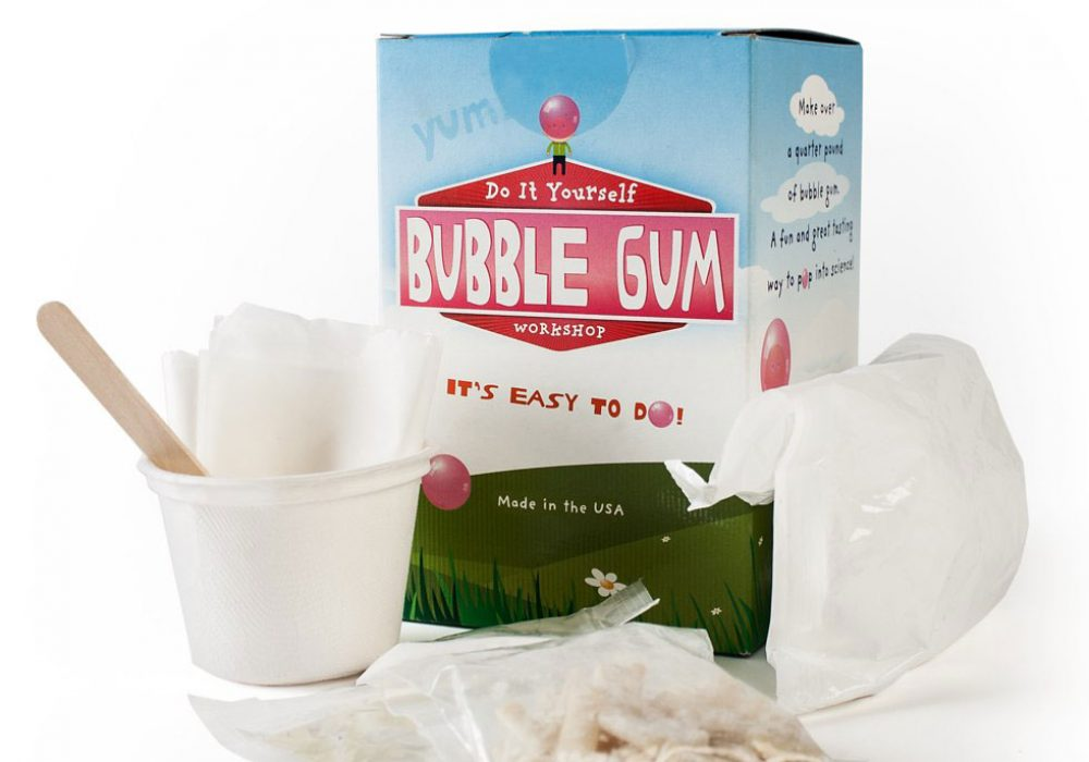 Do It Yourself Bubblegum Kit How to Create Gum