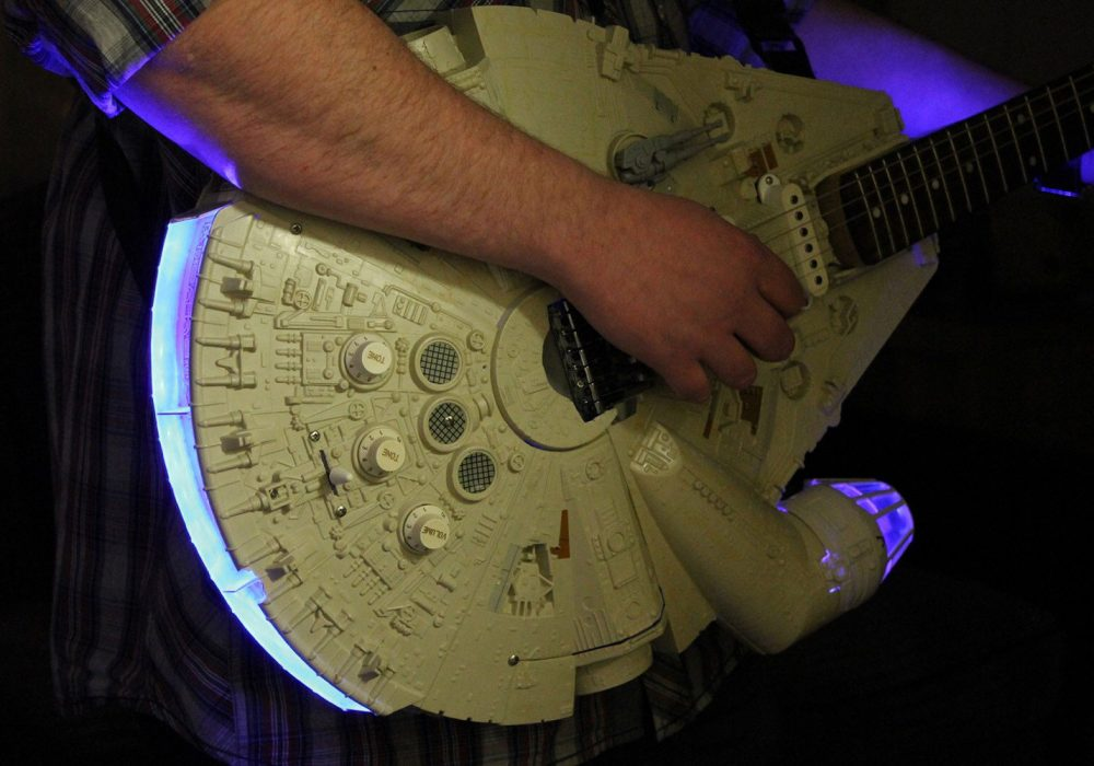 Doni Guitars Han Solo Electric Guitar Cool Music Instrument to Buy