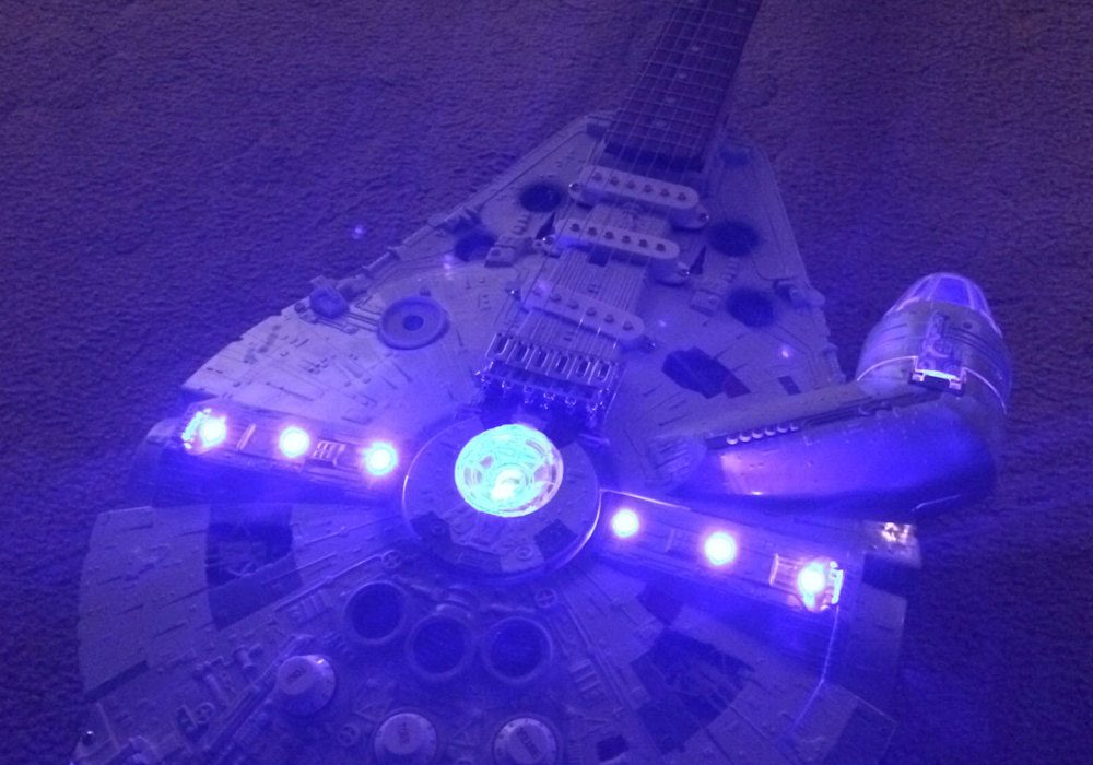 Doni Guitars Han Solo Electric Guitar Star Wars Fan Must Have