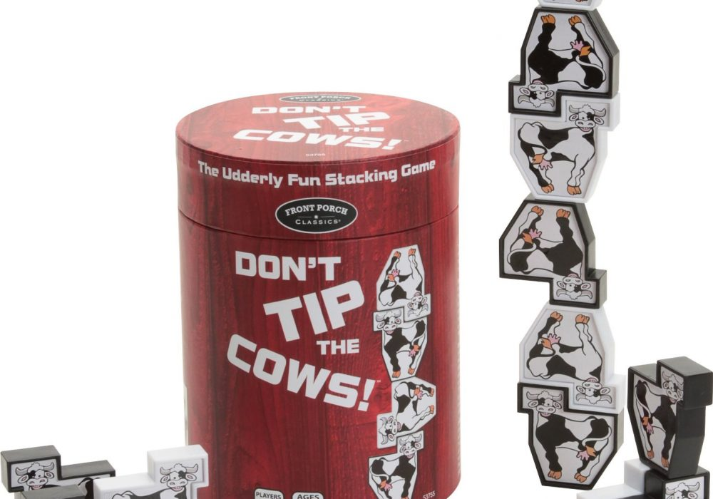 Dont Tip The Cows Stacking Game Family Game
