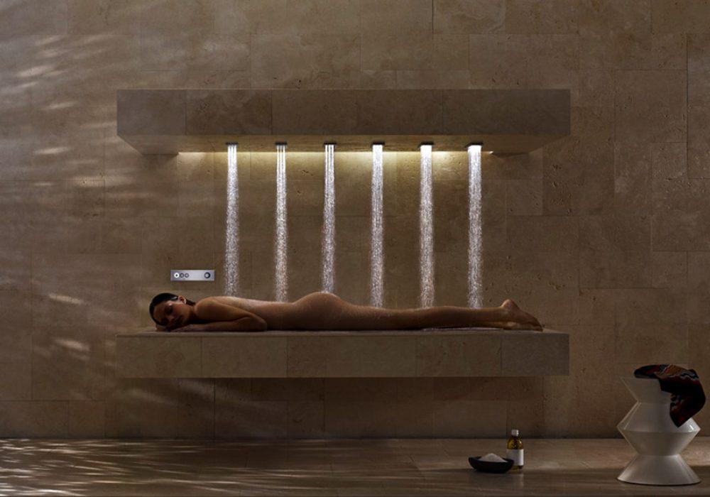 Dorn Bracht Horizontal Shower Showers