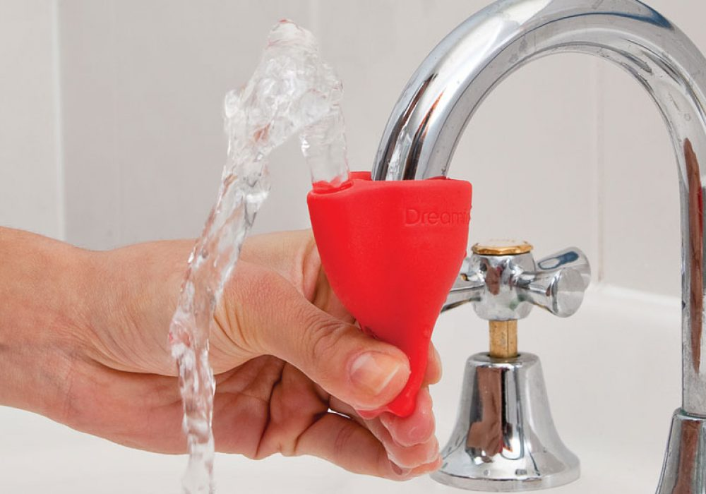 Dreamfarm Tapi Fountain Rubber Tap Bathroom Accessory to Buy