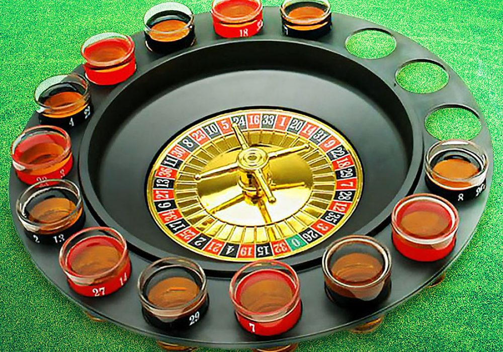 Drinking Game Glass Roulette Activity