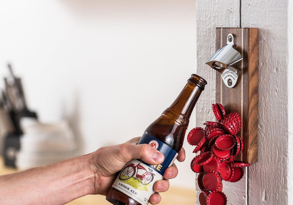 DropCatch Magnetic Bottle Opener No Mess