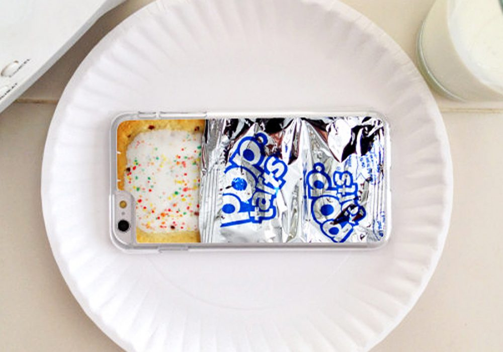 D's Custom Cases Pop Tart iPhone Case Cool Gift Idea for Apple Users