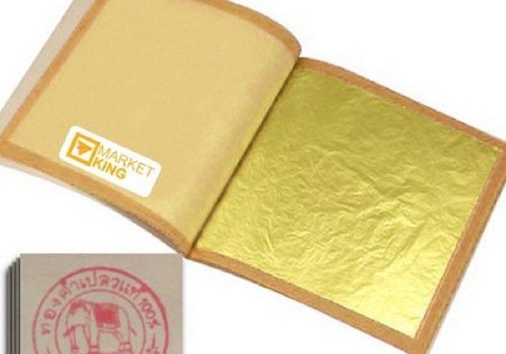 Edible 24 Karat Gold Leaf Skin Care