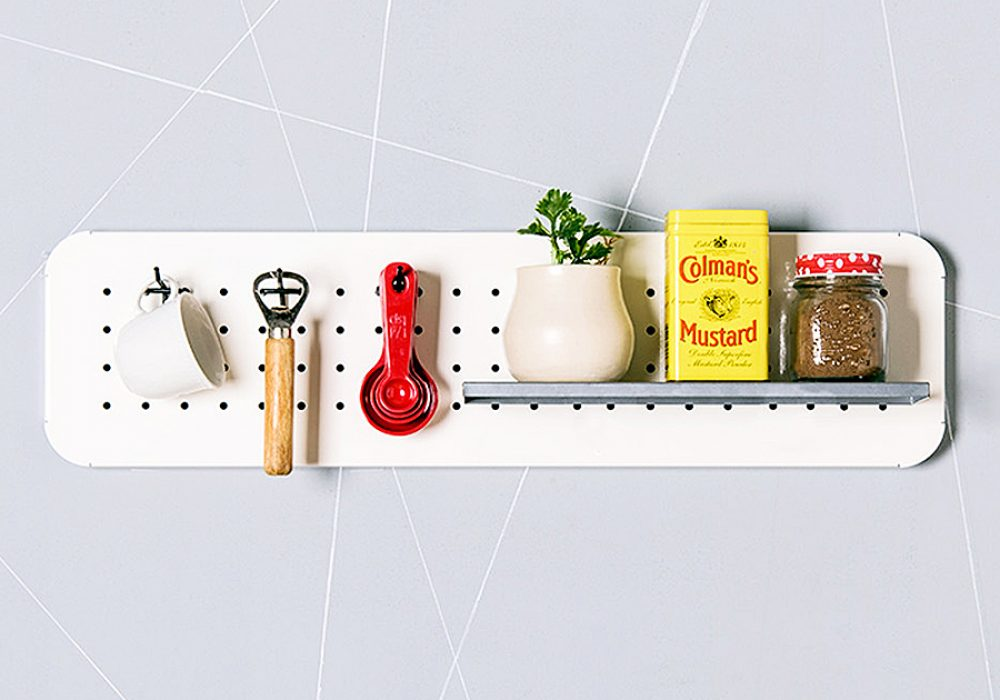 Eina Design Mini Metal Pegboard Organizer Made to Order