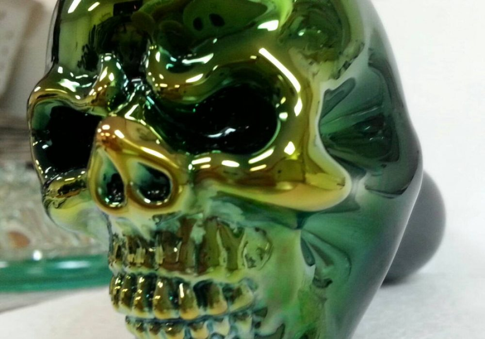 Elevator Glassworks Sick Skull Pipe Gangster