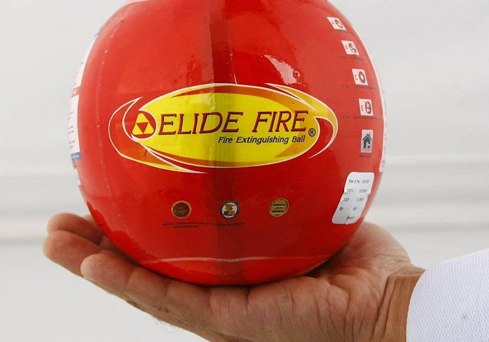 Elide Fire Extinguisher Ball Safety