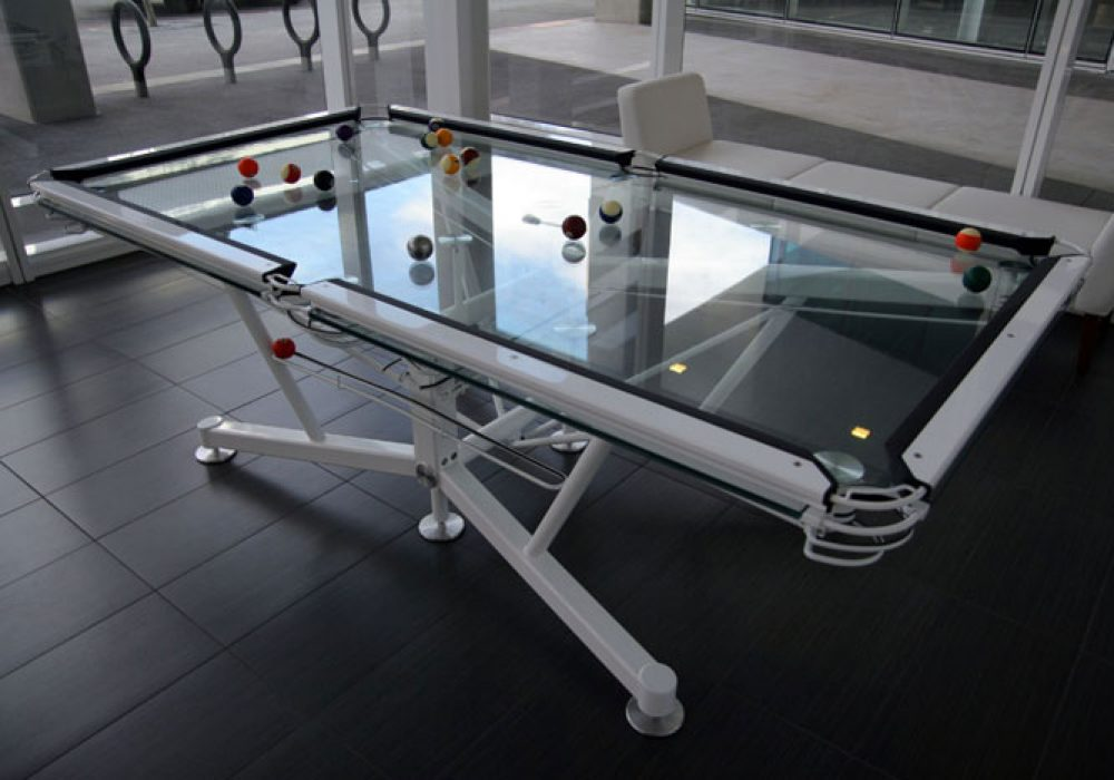 Elite Innovations Glass Pool Table Cool Expensive Stuff to Buy