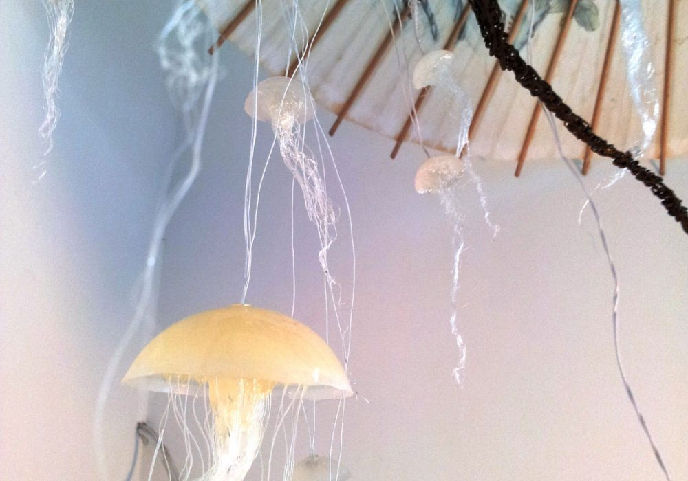 Ellipsis Fish Jellyfish Hanging Lights Unique Lamp