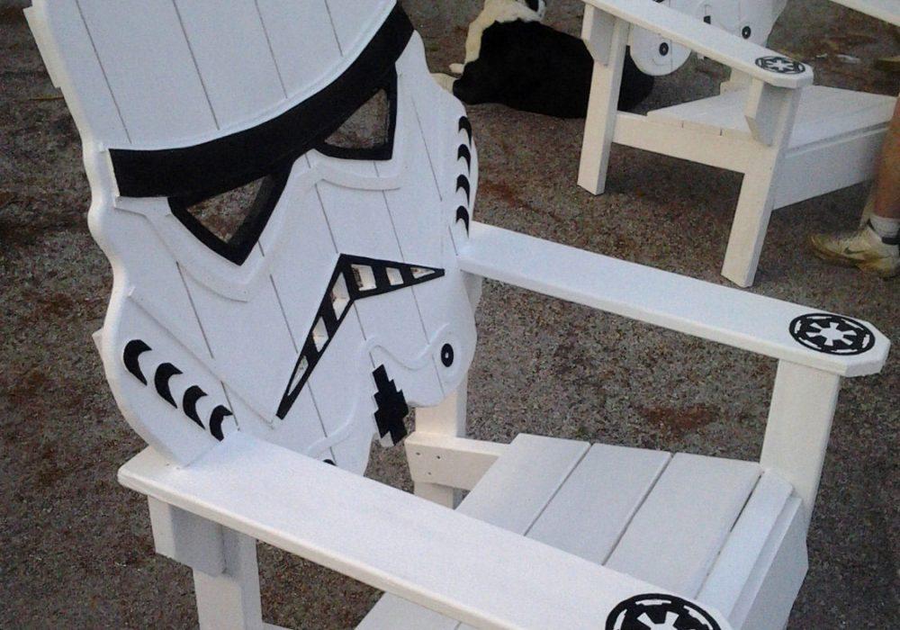 Emmanddoubleyas Storm Trooper Chair Geek Gift Idea