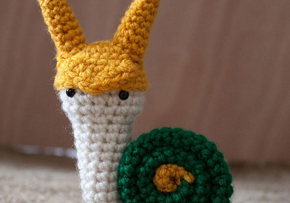 Fallen Designs Loki Laufsnail Snailvengers Amigurumi Pattern Crochet