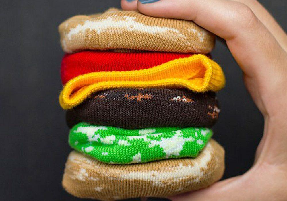 fast-food-socks-knited