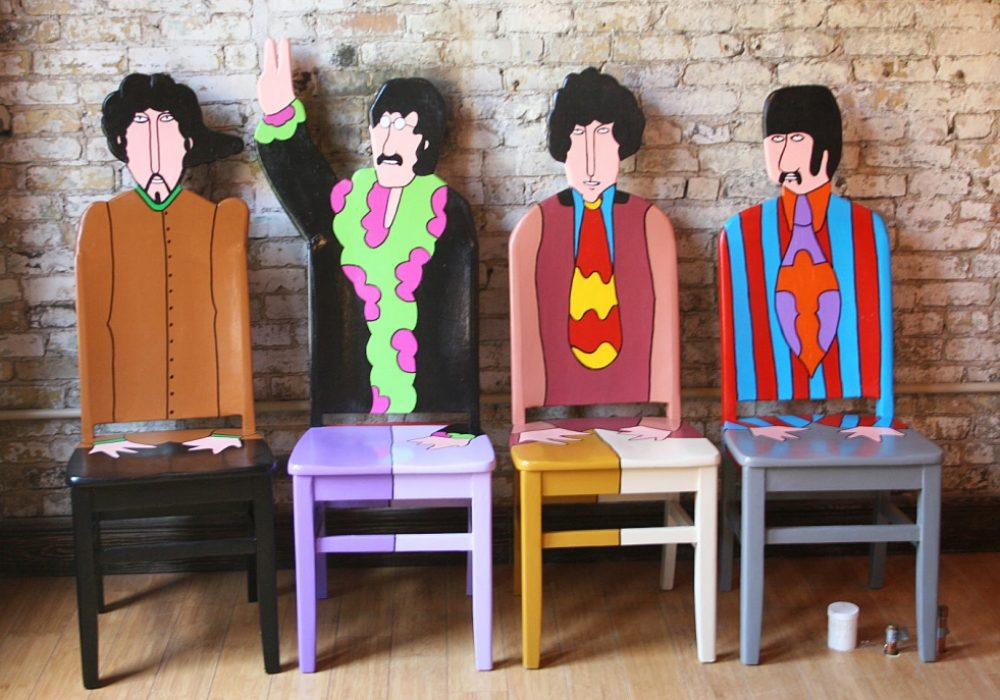 Fendos Art The Beatles Yellow Submarine Chairs Buy Beatles Collectible