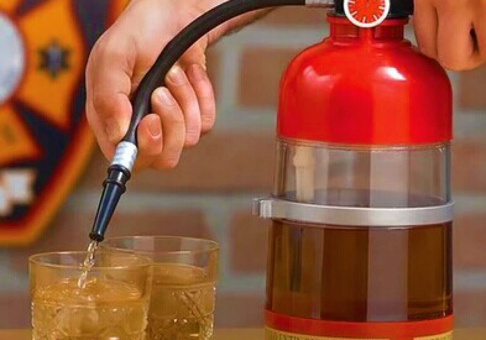 Fire Extinguisher Beer Dispenser Cool Stuff to Buy for Him