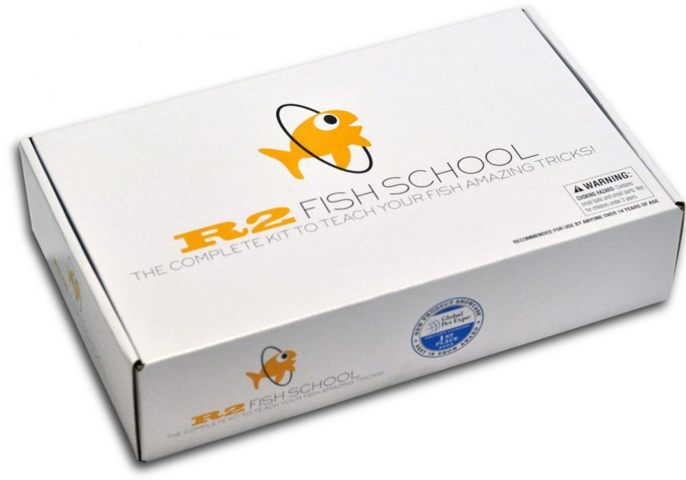 Fish Training Kit Box Packaging