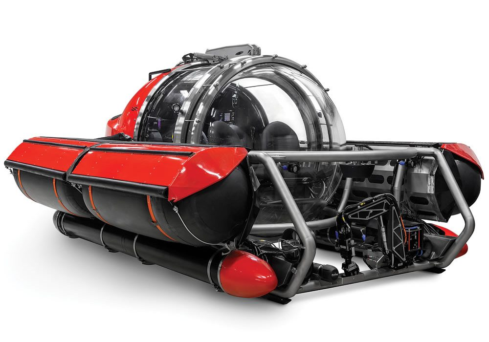 Five Person Exploration Submarine Finding Atlantis
