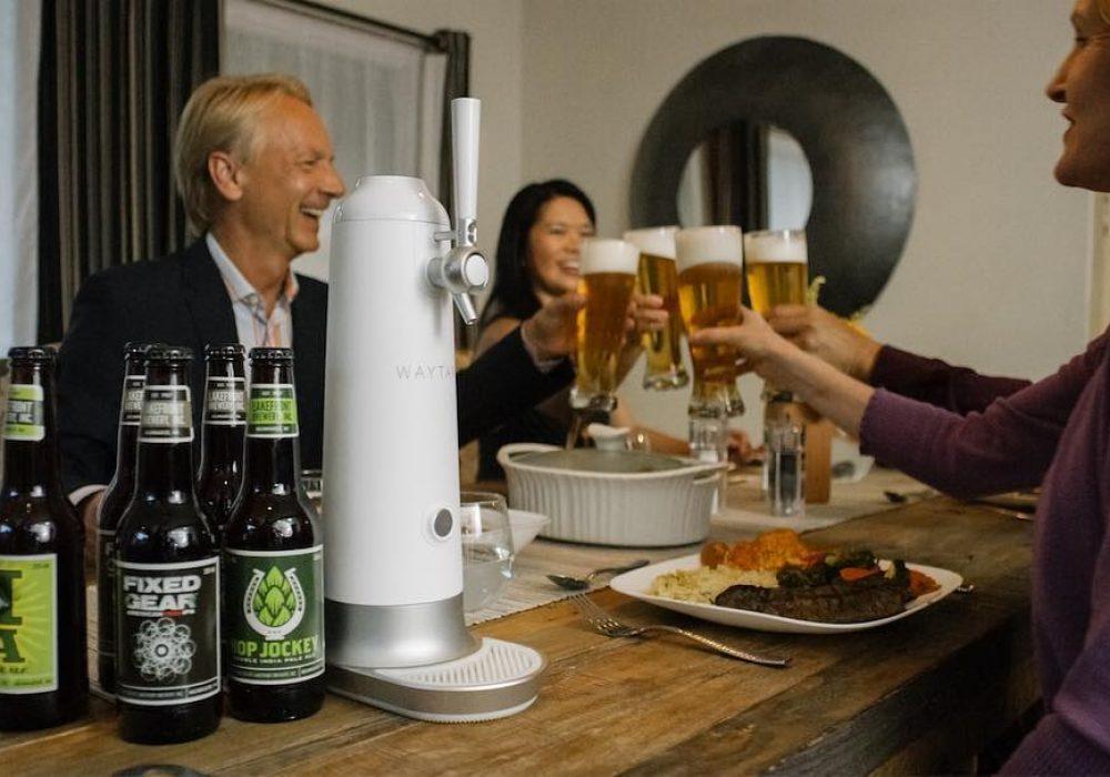 Fizzics Waytap Beer Dispenser Flavor Enhancer