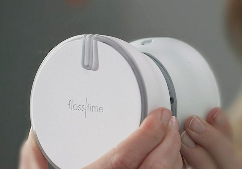 Flosstime Automated Floss Dispenser Hygiene