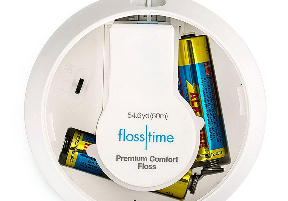 Flosstime Automated Floss Dispenser Replaceable floss cartridge