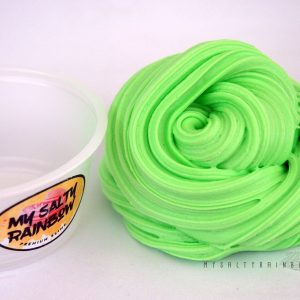 Fluffy Mint Green Slime