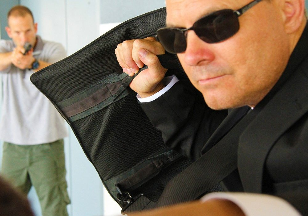 Force Training Institute Multi-Threat Shield Bulletproof Briefcase Self Defense Must Have
