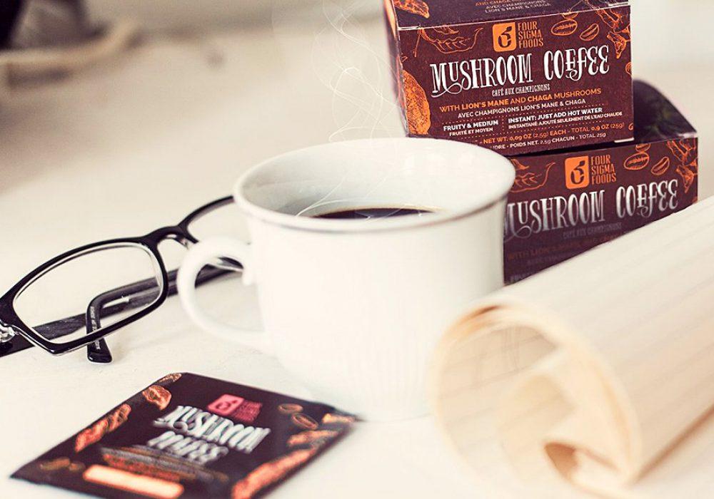Four Sigma Foods Mushroom Coffee Powerful Antioxidants
