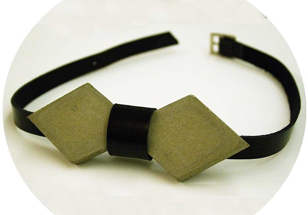 Frame Lab Concrete Cement Arrow Bow tie Cool Formal Style
