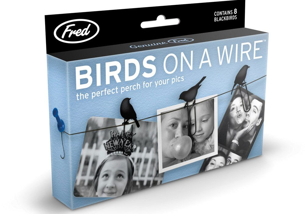 Fred Birds on a Wire Adorable Gift Idea for Her