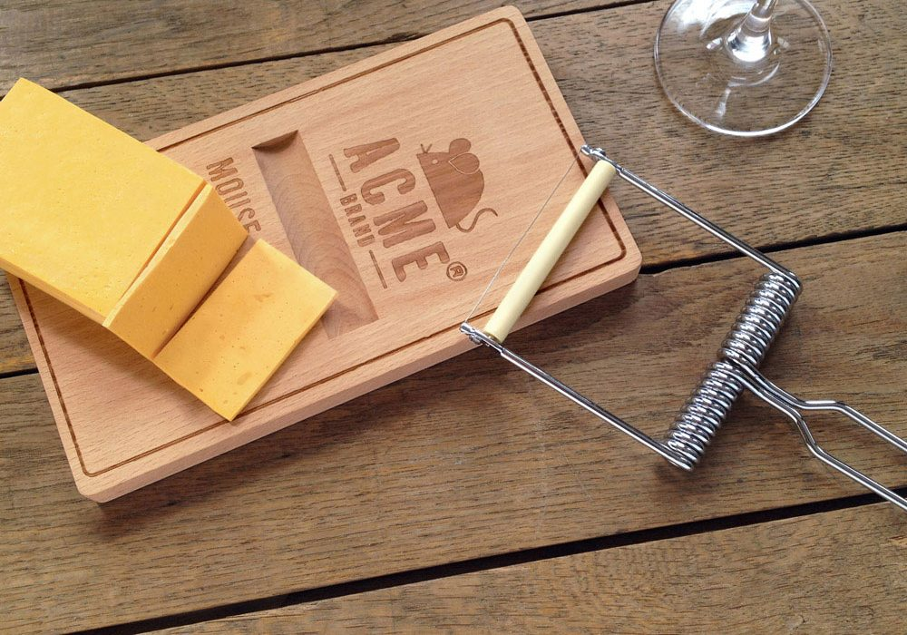 Fred Oh Snap Cheese Board Cute Slicer